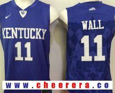 76fb65b2e1d8 Men s Kentucky Wildcats John Wall Royal Blue College Basketball 2016 Nike  Swingman Stitched NCAA Jersey on sale
