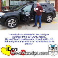 Timothy is super excited about his recent purchase, congratulations! 🎉