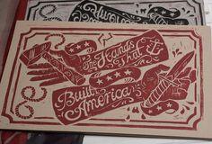 The Hands that Built America by Derrick Castle