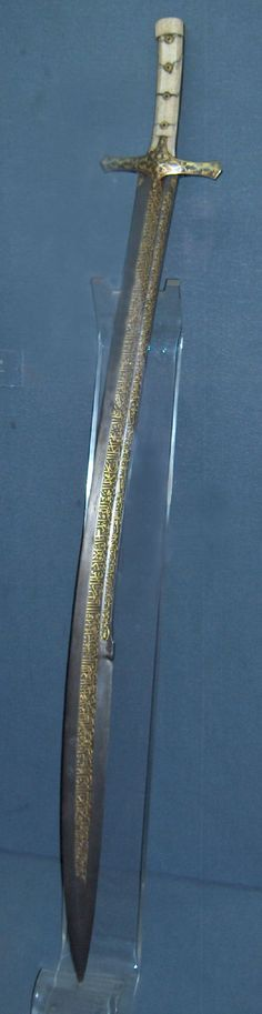 "126cm long Kilij of Ottoman Sultan Mehmed II, ""The Conqueror"". (BotN legal replica commissioned from Viktor Berbekucz)"