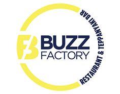 Logo, branding, and menu design for South African restaurant Buzz Factory https://www.behance.net/gallery/28004805/Buzz-Factory-Logo-and-Branding #mattreid #menu #logo #branding #food #clean