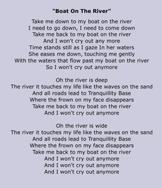 THE KINGSTON TRIO - ROLLING RIVER LYRICS