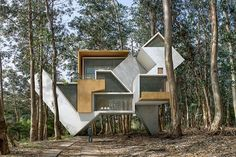 Dionisio González projects surreal architectural visions in nature