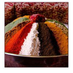 Persian spices. Bazaar Vakil. Shiraz.