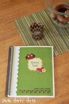 Owl Weekly Meal Planner...free download.