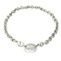 Tiffany & Co Return to Tiffany Sterling Necklace  Available on our August 11th Auction @ hamptonauction.com