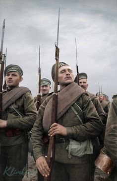 56 Incredible Colorized Photos That Revived 'Russia During WWI' ~ vintage everyday Ww1 History, Military History, World History, History Pics, Ww1 Photos, Colorized Photos, Photographs, World War One, First World