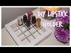 DIY Makeup Storage, Lipstick Holder (Popsicle Sticks), My Crafts and DIY Projects