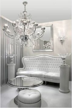 The Sitting Room of Glam ~ Colette Le Mason @}-,-;---