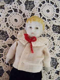 Antique Boy Bisque Doll  German  EXCELLENT by UrbanRenewalDesigns, $24.99