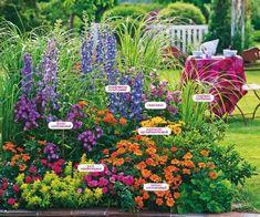 New flowers garden design creative 42 Ideas Creative Landscape, Landscape Design, Flower Garden Design, Flowers Garden, Garden Cottage, Flowers Perennials, Shade Garden, Flower Beds, Garden Planning