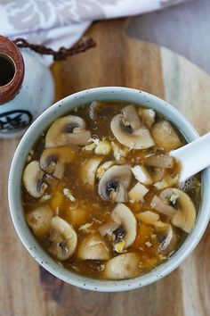 Hot and Sour Soup by rasamalaysia: The BEST and EASIEST Chinese hot and sour…