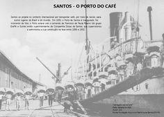 Embarque do Café Porto Santos - década 1900 Arquivo: FAMS Autor; A.D