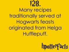 HP facts HUFFLEPUFF!!!!!
