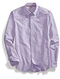 Goodthreads Men's Slim-Fit Long-Sleeve Solid Oxford Shirt, Purple, XX-Large: This classic, versatile shirt provides a clean, buttoned-up look with a special wash for a soft feel and maximum comfort Ugly Sweater, Pullover Sweaters, Bathing Suit Shorts, Denim Jacket Men, Cap Dress, Slim Man, Oxford, Long Sleeve, Mens Tops