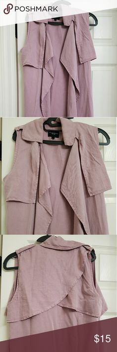 🎄NWOT Long Maxi Vest🎄 Very soft . Great material Walter Baker Jackets & Coats