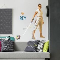 """This wall decal will add a unique and affordable do-it-yourself design impact to any space. 28"""" x 45.5"""" #ad Roommate Decor, Roommates, Wall Sticker, Wall Decals, Vinyl Decals, Star Wars Wallpaper Iphone, Classroom Window, L Ascension, Do It Yourself Design"""