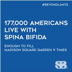 We're reaching #beyondlimits this October to raise awareness and to support the 177K living with #spinabifida in America today. SHARE to show your support!
