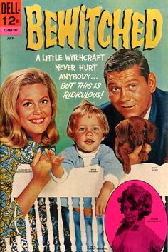 BEWITCHED-the best Darrin!! Oh how I wished I could wiggle my nose like that.
