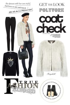 """""""Cool Coats November 2015"""" by ragnh-mjos ❤ liked on Polyvore featuring Surreal But Nice, Markus Lupfer, Paige Denim and Miista"""