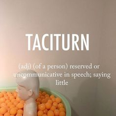 Taciturn  ˈtasəˌtərn  late 18th cent.: from Latin taciturnus, from tacitus. . . #beautifulwords #wordoftheday #caprice #tacitus #reserved #communication #quiet #observant #still #breezeartfair #브리즈아트페어 #pingpong #bath #sculpture