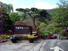 The Garden of Morning Calm in Gapyeong, Korea