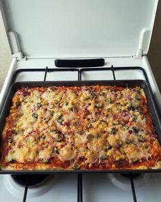 Gyors tepsis pizza