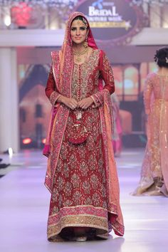 2015 Telenor Bridal Couture Week Ayesha Ibrahim Wedding Dresses Pics