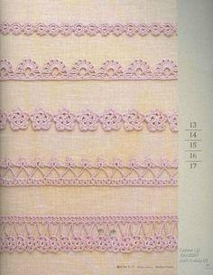 Edging Crochet Chart Pattern