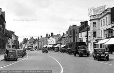 Bicester, Sheep Street c.1950, from Francis Frith
