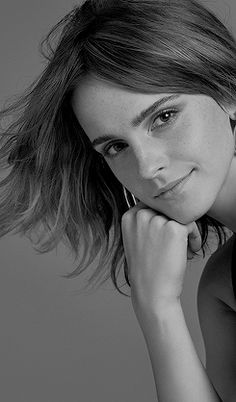 """Emma Watson photographed by Kerry Hallihan for Entertainment Weekly """