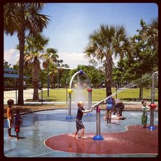 Dr. Phillips Splashpad, FL | #Vortex, #Splashpad, #happysplashpadder www.vortex-intl.com