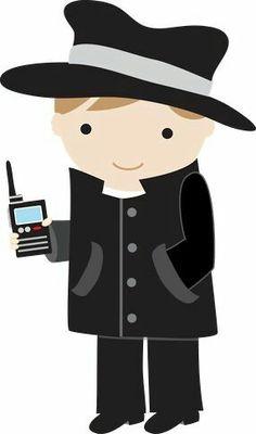 detective top secret agents for god and school or home on secret agent clip art words secret agent clipart