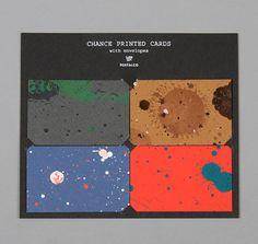 POSTALCO: Chance Printed Card, Gift Card Set