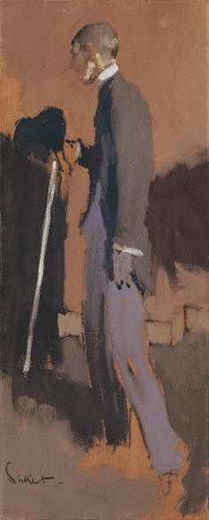 Walter Sickert ~ Portret van Aubrey Beardsley ~ 1894 ~ Olieverf op doek ~ x cm. Richard Diebenkorn, Figure Painting, Painting & Drawing, Walter Sickert, Brighton, Japanese Woodcut, Aubrey Beardsley, Art Fund, Tate Gallery