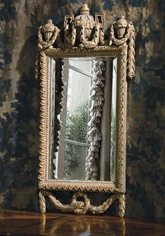 Ebanista Tre Palle Mirror; No: 410.200.101;  19w x 36h