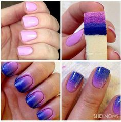 #nail#nailpolish#pink#purple