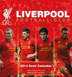 SAVE $6.45 - #Liverpool FC - Official Desk Calendar 2014 | Closeout! $7.50