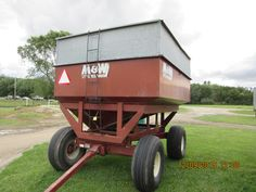 M & W little red wagon
