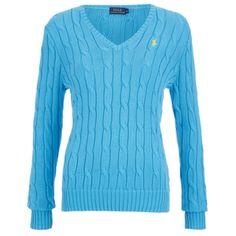 Polo Ralph Lauren Women's Kimberly Jumper - Turquoise: Image 1