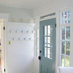Love the duck egg blue door x