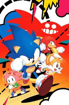 Sonic Mega Drive by Matt Herms.