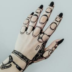 Robotic Henna Design