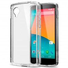 Forro Nexus 5 Spigen SGP Ultra Hybrid Crystal Transparente $ 43.600,00