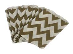 Patterned paper bag
