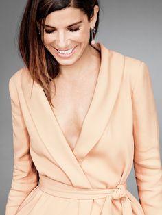 Sandra Bullock for Glamour US September 2015