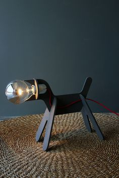 Edison Dog Lamp, Rockett St George