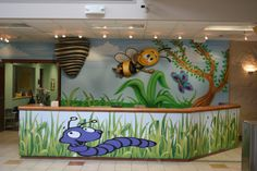 childrens church decor | ... Church Murals, Stage Sets, Children's Church Murals,Themed Attractions