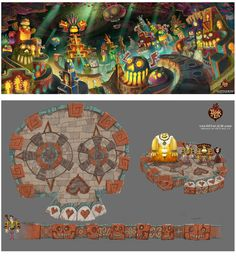 Concept Arts de Jordan Lamarre-Wan para The Book of Life | THECAB - The Concept Art Blog
