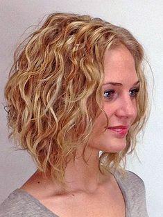 curly bob thin hair